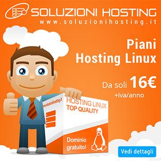 Piani hosting linux